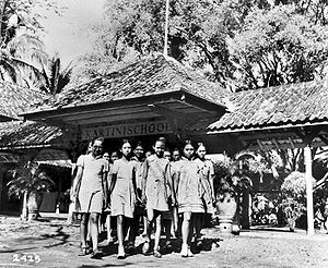 Women in Indonesia - Kartini school in early 20th century.