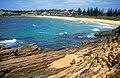 CSIRO ScienceImage 4517 Pacific coast beach at Bermagui NSW November 2002.jpg