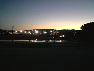 Colorado State University - The Lagoon, Rec Center, and Intramural Fields.