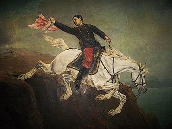 Caballo de Alfonso Ugarte. A. Marazzani-Lima