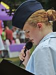 Cadet speaking at 2013 Dundalk Heritage Fair in Maryland.jpg