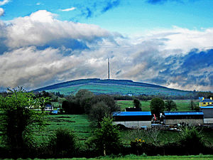 Cairn Hill transmission site - Image: Cairn Hill 2