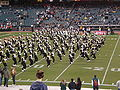 Cal Band performing pregame at 2008 Emerald Bowl 02.JPG
