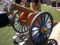 Cal Victory Cannon at 2009 Cal Fan Appreciation Day 2.JPG