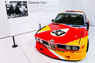 BMW Art Car - Image: Calder CSL