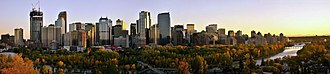 Western Canada - Calgary is the largest municipality by population in western Canada.