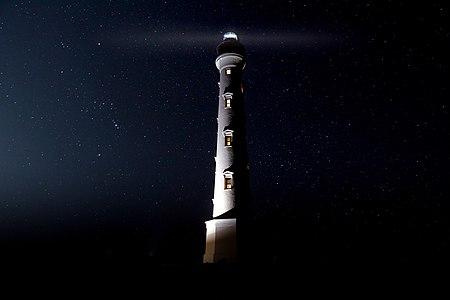 California Lighthouse Aruba by Night.jpg
