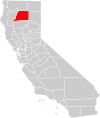 California county map (Shasta County highlighted).svg