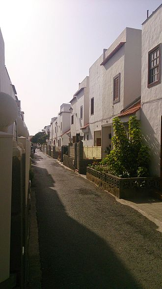 San Fernando de Maspalomas - The quaint neighborhood El Patronato
