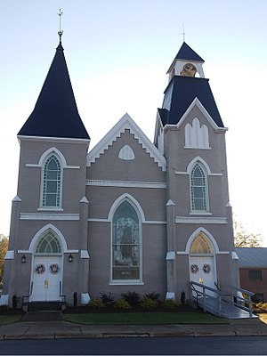 Grace Reformed Church (Newton, North Carolina) - Calvary Baptist Church, formerly Grace Reformed Church