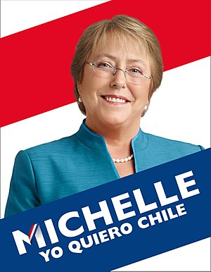 Campaign advertising - Advertisement from the 2013 Chilean general election for Michelle Bachelet