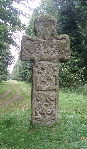 Camus Cross - The Camus Cross, west face