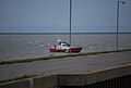 Canadian Coast Guard lifeBoat moored off the Ile d'Orleans, Quebec.jpg