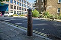 Cannon Bollard At North West Corner Of Pepper Street.jpg