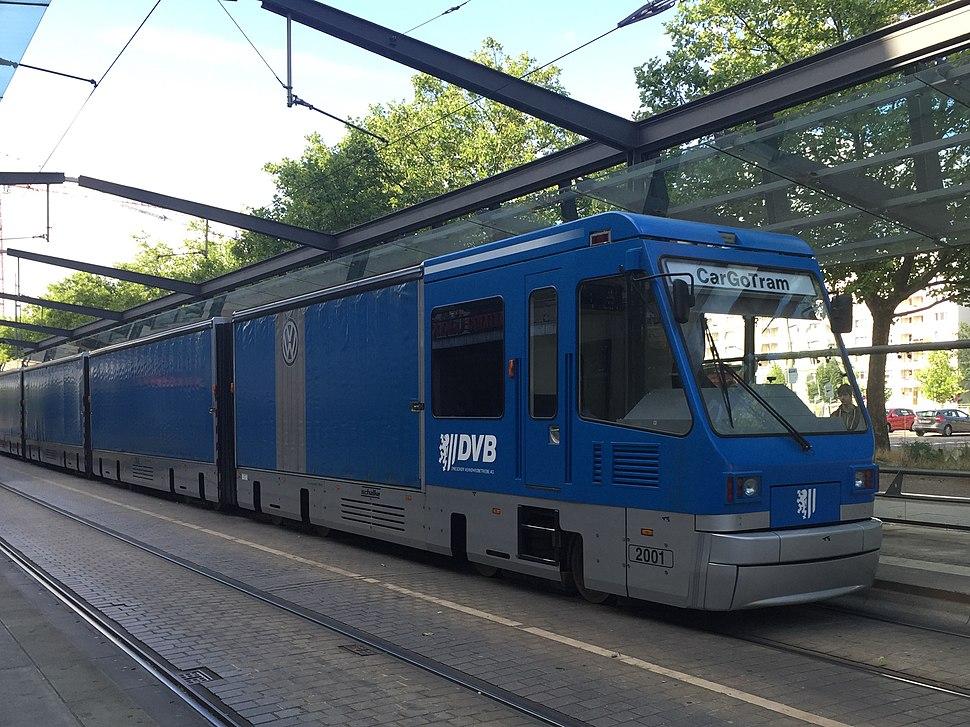 CarGo Tram Dresden Postplatz 3