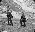 Carabiniers au port de Vénasque, Luchon, 12 août 1892.jpg