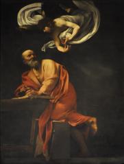 caravaggios paintings inspired - 587×900