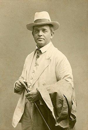Carl Nielsen - Image: Carl Nielsen c. 1908 Restoration