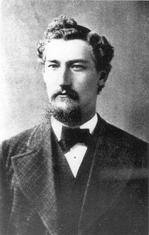 Carl Rüedi - Image: Carl Rüedi, M.D. (Swiss lung expert) (c. 1885)