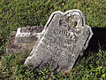 Carnahan (William), St. Clair Cemetery, 2015-10-06, 01.jpg