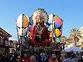 Carnevale di viareggio 2014, L'acchiappasogni di Franco Malfatti.JPG
