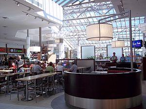 Carrefour Angrignon - Interior Carrefour Angrignon Food Court