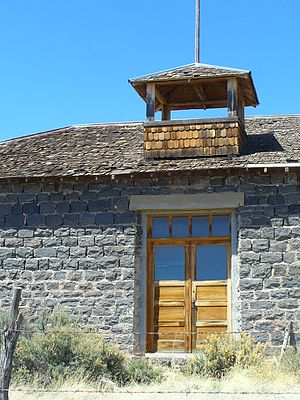 National Register of Historic Places listings in Taos County, New Mexico - Image: Carson School