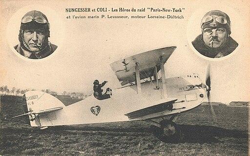 Carte postale-Nungesser et Coli-1927