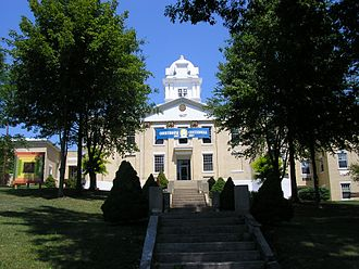 Grayson, Kentucky - Carter County Courthouse in Grayson
