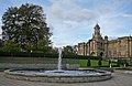 Cartwright Hall and fountain, Bradford (22nd October 2010).jpg