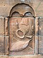 Carving on industrial monument - geograph.org.uk - 532072.jpg