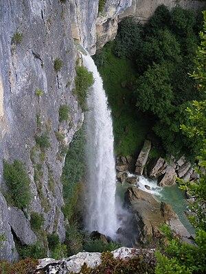 Artemare - Cerveyrieu Waterfall