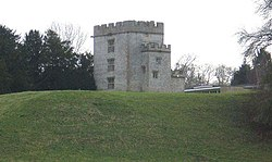 Castle Keep in Newton St. Loe College - geograph.org.uk - 642177 cropped.jpg