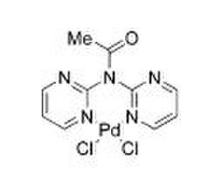 Sonogashira coupling - Dipyrimidyl-palladium complex.