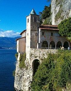 Eremo di Santa Caterina del Sasso - Wikipedia