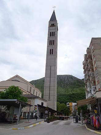 Bell tower - Image: Catholic Church of St. Peter and St. Paul 聖伯多祿與聖保祿天主堂 panoramio