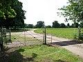 Cattle grid and pedestrian gate - geograph.org.uk - 1337962.jpg