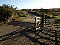Cattle grid on Brag Lane - geograph.org.uk - 1529314.jpg