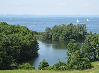 Caumsett State Historic Park Preserve - View of Long Island Sound from the park