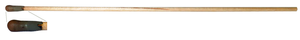 Caustic pencil - Typical caustic pencil with detail of dried, oxidized, and inactive chemical.