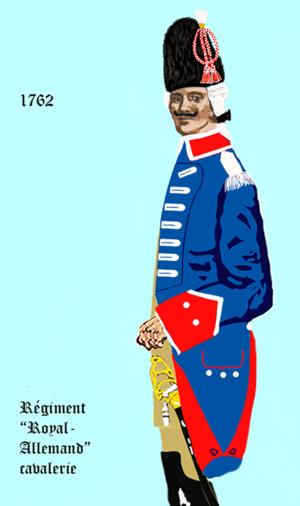 Régiment de Royal-Allemand cavalerie - Image: Cav Roy allemand 1762