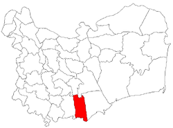 Location of Ceamurlia de Jos