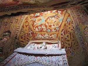 Ceiling paintings Yungang