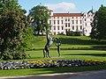 Celle Schlosspark Reiterstatue 06.JPG