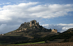 First Battle of Cellorigo - Place in La Rioja where the Castle of Cellorigo was situated, guarding the mountain pass.