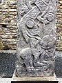 Celtic Carved cross-shaft at Kilfenora Cathedral.jpg