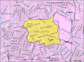 Census Bureau map of Fair Lawn, New Jersey.png