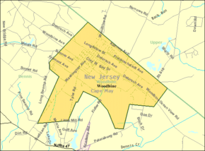 Census Bureau map of Woodbine, New Jersey.png