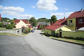 Center of Mastník, Třebíč District.JPG