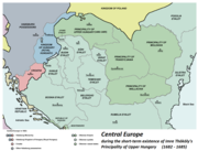 Central europe 1683